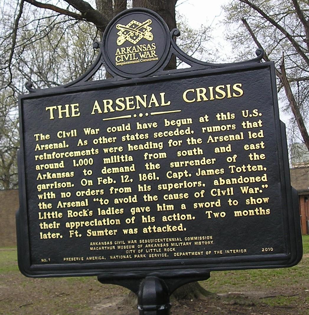 The Arsenal Crisis Marker